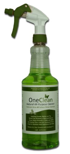 Healthier Sciences OneClean Natural All-Purpose Nanotech Power Cleaner RTU Spray Bottle, 32-Ounce