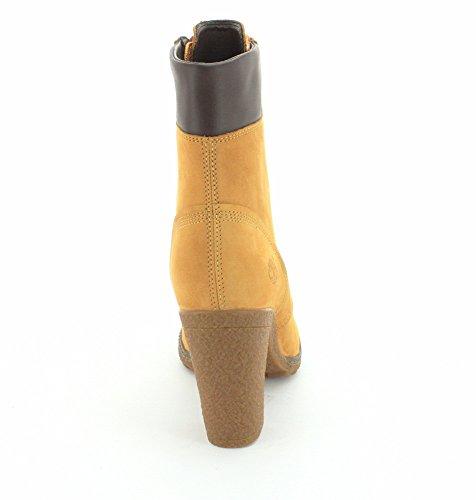 Timberland Womens EK Glancy 6 Inch Boot Wheat-wheat ZNPxfFbPmb