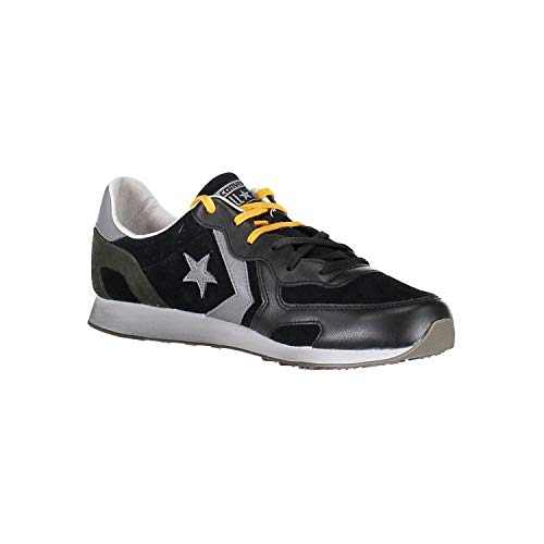 Racer Suede leather Black Ox Converse Mainapps Auckland Scarpa Eqw8xU6w