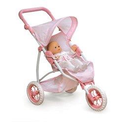 3 Wheel Doll Jogging Stroller - 2