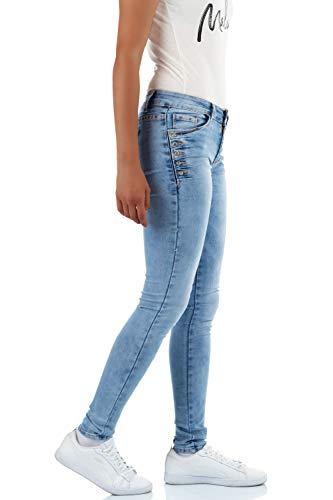Vaqueros Skinny Mujer para Azul malucas 4zdq4