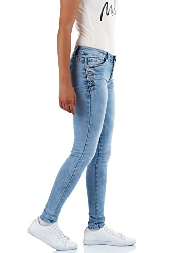 Skinny Jeans Bleu Bleu malucas Femme Bleu 5aOxdqxw7