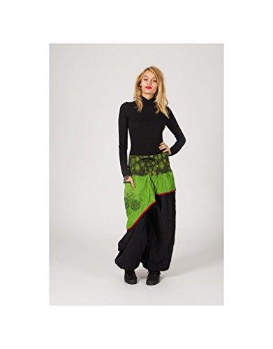Modeincoton - Pantalón - para mujer Multicolor