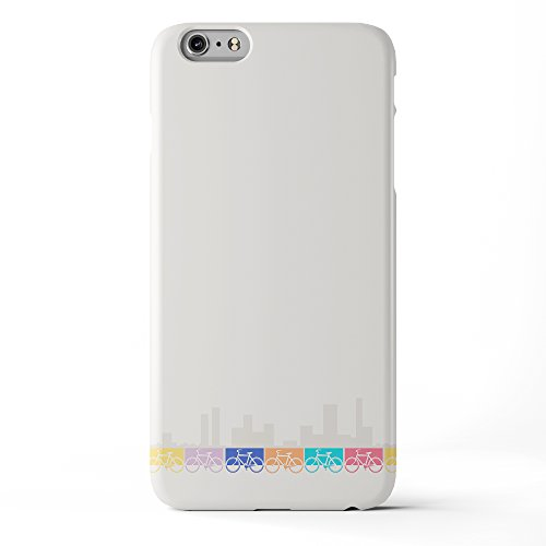 Koveru Back Cover Case for Apple iPhone 6 Plus - New Girl in Town Invert bike Abstract