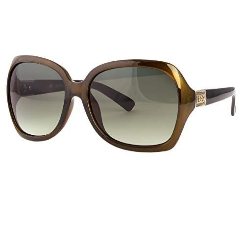 (NWT Womens Oversized DG Sunglasses Eyewear Designer Shades Fashion Black)