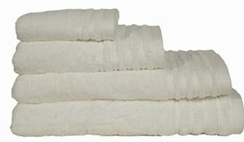Clara Vidal - Toalla 500 grs. Cloe, Tocador: 30x50 cm, blanco