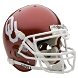 Oklahoma Sooners Schutt Authentic Full Size Helmet