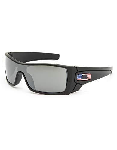 Oakley SI Batwolf Matte Black USA Flag Frame Prizm Black Lens ()