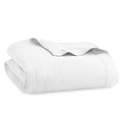 Amazon.com  Wamsutta® MICRO COTTON® Dream Zone™ Full Queen Blanket ... 2ceab8d5f
