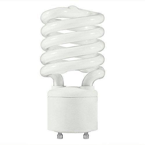42 Watt - Spiral CFL - 150W Equal - 2700K Warm White - GU24 Base - MaxLite 70087 (42w Spiral Cfl)