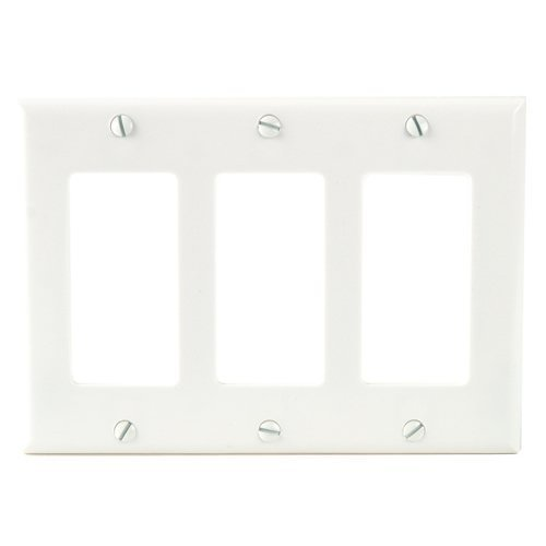 (Cooper Eaton Wiring Device 2163W-BOX Wall Plates, White)