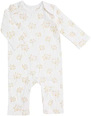 Aden by Aden /& Anais Baby Girl Boy Bodysuit Size 3 6 9 Months Yellow Gray Stars