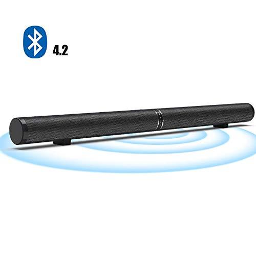 Dayangiii Sound Bar,Bluetooth 4.2 Power 50W, HDMI ARC HD Mode, AUX Mode, Fiber Mode, RCA Mode, External Active Subwoofer