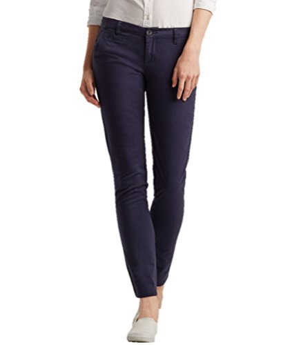 Aeropostale Womens Skinny Khaki Pants