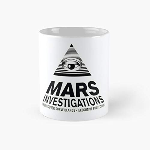 Mars Investigations Mug, veronica mars Cup, 11 Ounce Ceramic Mug, Perfect Novelty Gift Mug, Funny Gift Mugs, Funny Coffee Mug 11oz, Tea Cups 11oz ()