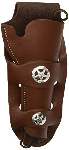 Authentic Loop Holster - Hunter 1080C-45 Authentic Loop Holster with Concho, Size 45, Brown