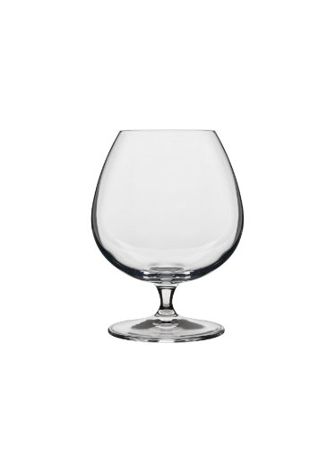 Luigi Bormioli 10564/02 Crescendo 15-1/2-Ounce Brandy Snifter,Clear , Set of 4