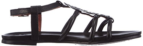 Belmondo 70301504 - Sandalias de vestir de cuero para mujer negro - negro