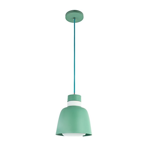 Green Glass Light Pendant in US - 7