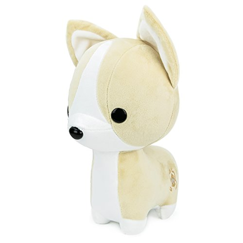 Bellzi Tan Corgi Stuffed Animal Plush Toy - Adorable Plushie Toys and Gifts! - Corgi