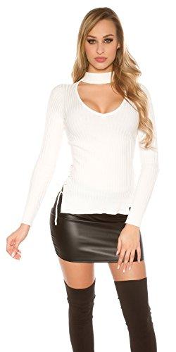 Pull Blanc KouCla Uni Wei Femme 38 Wei Youngfashion24 7OU5wqU6