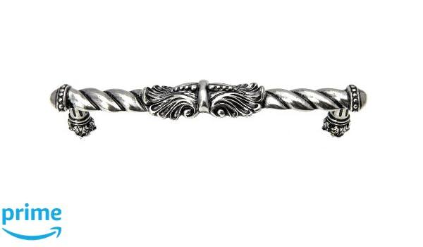 Large Center Pull Carpe Diem Hardware 828-9 Acanthus 6-Inch O.C Chalice