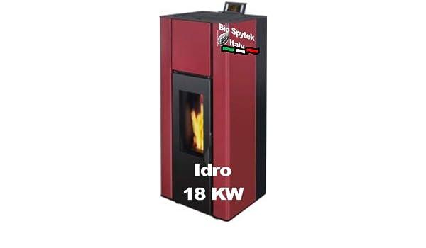 Estufa de pellets hidro: programable estufa de pellets hidro para 180 m²: Amazon.es: Hogar