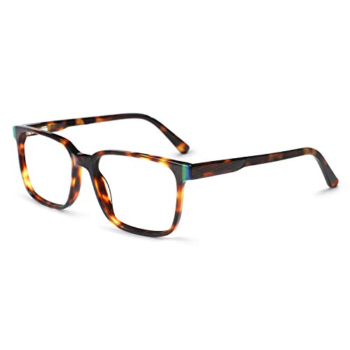 - OCCI CHIARI Non-Prescription Eyeglasses Frame Optical Eyewear Fashion Glasses Men Brown