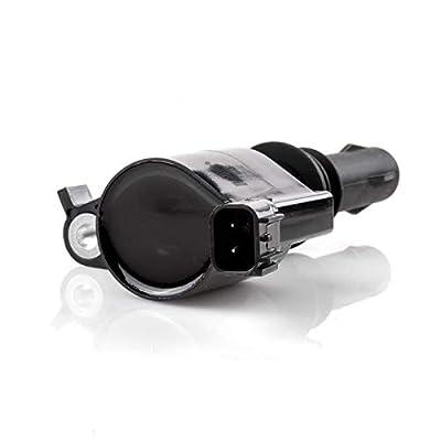 MAS Straight Boot Ignition Coils DG511 & Spark Plugs SP546 for Ford Lincoln Mercury 4.6L 5.4L 6.8L V8 V10 3L3E12A366CA 5C1584 C1541 FD-508 UF-537: Automotive