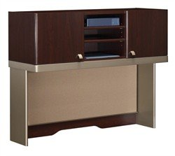 (Bush Business Quantum 48W Hutch (Tall) in Harvest Cherry)