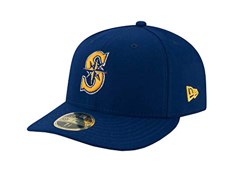 Seattle Mariners Low Profile New Era Alternate 59FIFTYFitted Hat/Cap - Alternate Cap New Era