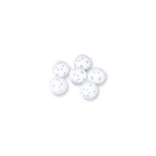 BSN Plastic Golf Ball (6 Pack), White