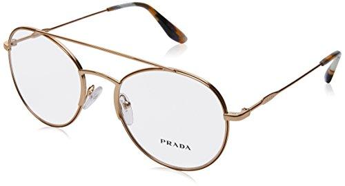 Para antique Marrón 55uv 0pr Prada De Gold Gafas Monturas Mujer qXBxUna