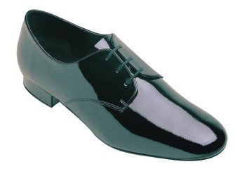 9000 Extra-wide Fitting Hombres Standard Ballroom Shoe Black Patent
