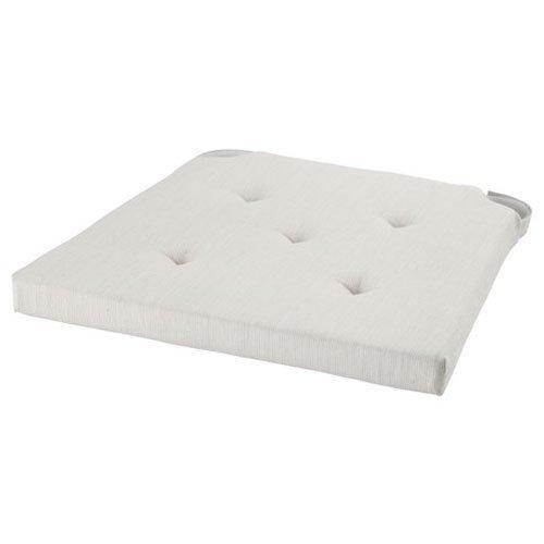 IKEA JUSTINA - cojín de silla pad, color natural, tejido con ...