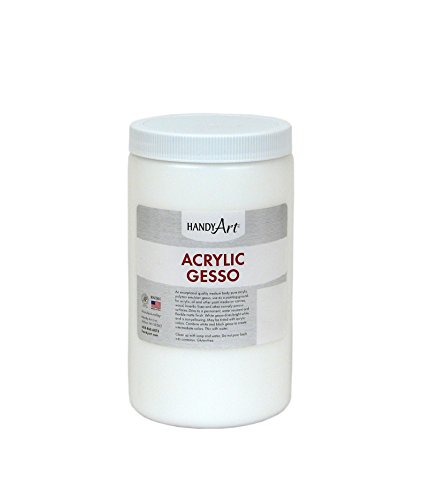 Handy Art Student Acrylic 32 ounce, White Gesso -