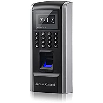 Biometric Fingerprint and Password and RFID Security Door Entry Access ControlTerminal