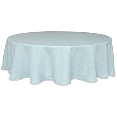 Lenox French Perle Solid Round Tablecloth, 70
