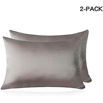 Amazon Com Hisen Home Silk Pillowcase For Hair And Skin