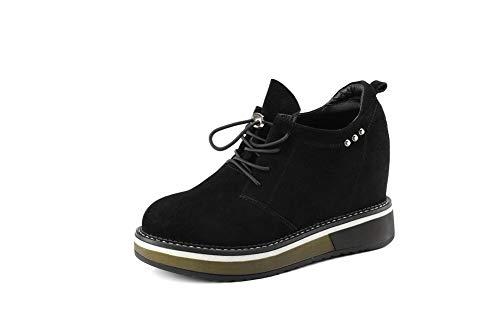 Uretano Mujer 1to9 Tacón Mms06560 Zapatos Negro Para De wBaT1Iq
