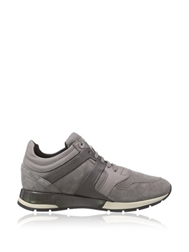 Geox scarpe shahira d44n1b c1006 sneakers ragazza suede leather grey