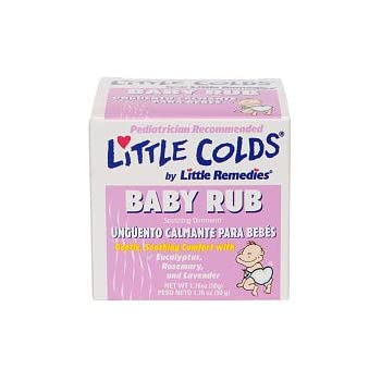 Amazon Com Little Remedies Little Colds Baby Rub Soothing