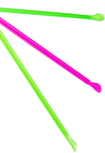 Perfect Stix Concession Spoon Straw, Plastic Wrapped, Assorted Colors, 8'' Length (Pack of 5,000) by Perfect Stix (Image #2)