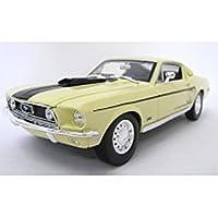 1/18 スペシャルエディション 1968 フォード マスタングGTコブラ (ホワイト) 200-311の商品画像