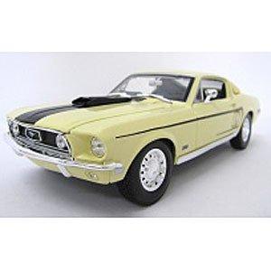 1/18 スペシャルエディション 1968 フォード マスタングGTコブラ (ホワイト) 200-311