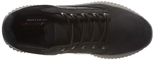 Hombre Brendo black Black Negro captor Para Skechers Zapatillas wHPnFITTq