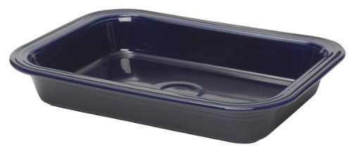 Fiesta 9-Inch by 13-Inch Lasagna Baker, Cobalt by Homer Laughlin by Fiesta (Image #1)
