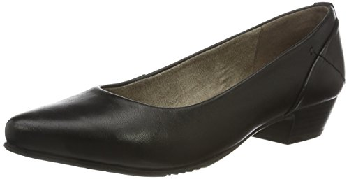 Jana 22200, Zapatos de Tacón para Mujer Negro (BLACK 001)