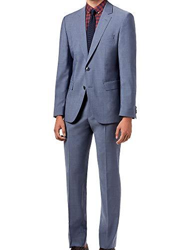 Hugo Boss Men's 2-Pc C-Jeffery/C-Simmons Wool Suit (42 Short, Blue Chambray)