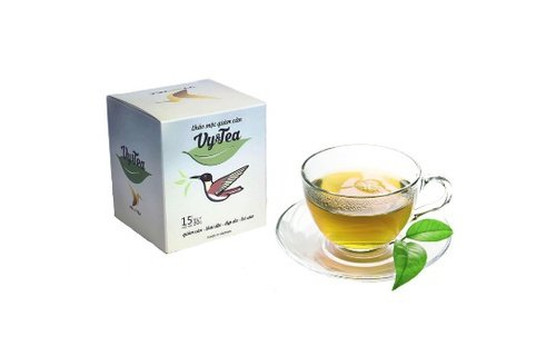 1 box (15 pack - Use 15 days) Trà Thảo Mộc giảm cân Vy & Tea -Vy & Tea - natural herbal tea help weight loss, sleep deep and purifying the body - Moc Natural